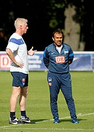 Jos Luhukay and Rob Reekers