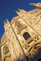 Detail of the Cathedral, Milan, Italy
