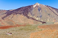 Teide volcano, Teide National Park, Unesco World Heritage Site, Tenerife, Canary Islands, Spain, Europe