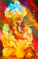 Ganesh ganpati Chaturthi Festival Elephant head Lord Idol procession