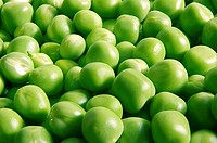 Food , Many Green Peas vegetable background full frame