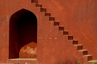 Steps of Jantar Mantar, 1725 AD, New Delhi, India