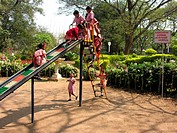 School Children , Children Park , Pune , Maharashtra , India