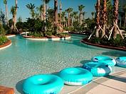Orlando, FL, Florida, Champions Gate, Golf Resort, river pool, swimming pool