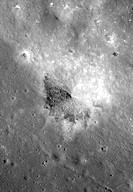 A Constellation Program Region of Interest near the northeast edge of the unusually large melt pond adjacent to the lunar far side crater King.