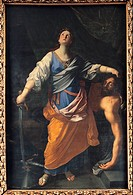 Judith. Maratta, Carlo (1625-1713). Oil on canvas. Baroque. Between 1621 and 1630. Italy, Roman School. Musei Capitolini, Rome. 230x155. Bible. Painti...