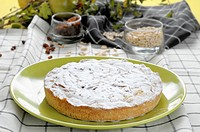 The cake is a sweet grandmother's typical Ligurian, and are common in Tuscany, composed by an envelope of shortcrust pastry covered with pine nuts and...