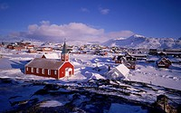 Nuuk city, Capital of Greenland.