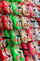 Netherlands, Amsterdam, traditional wooden shoes,.