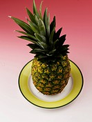 pineapple on dish