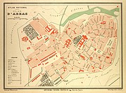 MAP OF ARRAS FRANCE