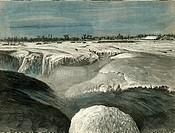 La Chaudiere in Winter Canada 1873