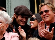 Ashton Kutcher, Demi Moore, Don Johnson & Marlene Willis - Hollywood/California/ - BRUCE WILLIS HONORED WITH THE 2,321ST STAR ON THE HOLLYWOOD WALK OF...