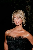Jessica Simpson - Beverly Hills/California/United States - CLIVE DAVIS 2005 PRE GRAMMY PARTY