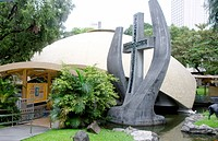 Sto. nino de paz chapel, Greenbelt park, Makati, the Philippines