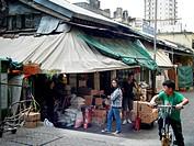 Old market at Sheung Shui, New Territories, Hong Kong