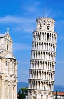 The LEANING TOWER OF PISA was begun in 1174 AD, stands 847 feet, and continues to settle as it did from its inception, ITALY - Pisa, Italien, Europa, ...