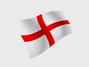 The National Flag of ENGLAND - 27/01/2012