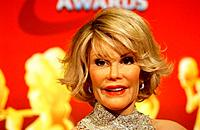 Joan Rivers wax figure - Hollywood/California/United States - MADAME TUSSAUD´S OPENS IN HOLLYWOOD