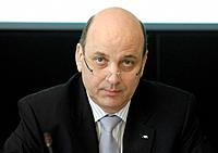 Bilanzpressekonferenz der AXA Konzern AG am 08.05.2008 : Frank KEUPER , Vorstandsvorsitzender - Koeln, GERMANY, 08/05/2008