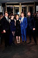 Tom Hopper, Anne Hathaway, Amanda Seyfried, Eddie Redmayne and Hugh Jackman - Berlin/Germany/Germany - BERLINALE FILM FESTIVAL PREMIERE LES MISERABLES