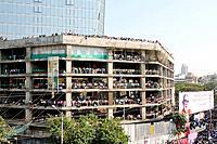 Balasaheb Thackeray Funeral Procession Crowd shots and General Shots on road mumbai maharashtra Nove 2012