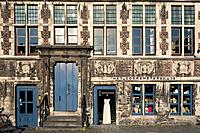 The guildhall Corn Measurer's house / Cooremetershuys at the Grass Lane / Graslei in Ghent, Belgium
