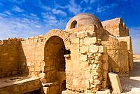 Qusayr Amra or Quseir Amra, Hummayad Hunting Pavilion, Jordan, Middle East.