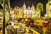 Principality of Monaco, Monte Carlo. The famous Café de Paris.