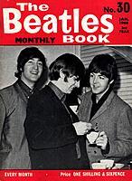 Cover of The Beatles Book, No 30, January 1966. Rights information: Cleared for Editorial Use Only. Please Contact Us For Any Other Clearance Rights: ...