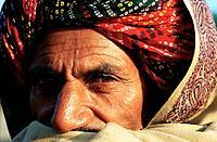 Traditionally dressed hindu man. Rajasthan, India.