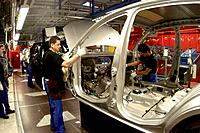 Production of Ford Fiesta and Ford Fusion in the Ford car works in Cologne. - Cologne, Germany, 19/01/2007