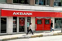 Branch of the Akbank - Istanbul, Turkey, 19/05/2007