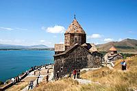 Armenia, Lake Sevan , Sevanavank Monastery.