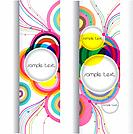 abstract modern banner .set vector design