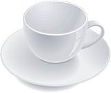 Empty teacup