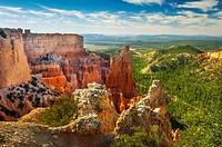 hoodoos , Bryce Canyon , National Park , Utah , USA.