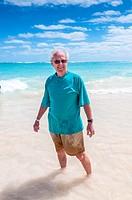 man,beach, Riu Palace, hotel, Punta Cana, Dominican Republic, Caribbean