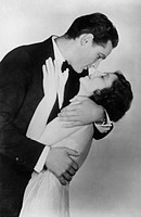 Janet Gaynor (1906-1984) and Charles Farrell (1901-1990), American actors, 20th century. Gaynor and Farrell played the romantic couple in more than a ...
