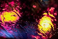 Lights under water