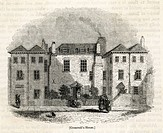 Oliver Cromwell's home near Whitehall, London.