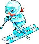 Baby Skier.