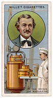 HIPPOLYTE MEGE-MOURIES French inventor of margarine