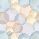 Seamless pattern - vector rainbow circles