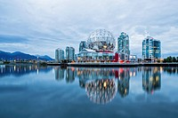 Canada, British Columbia, Vancouver, Telus Worl of Science at False Creek