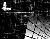 the black and white vector abstract background