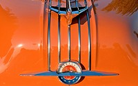 Hood ornament of 1954 Pontiac Chieftan.