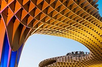 Setas. Metropol Parasol of Encarnacion. Seville. Andalucia. Spain.