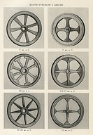 Greek and Etruscan wheels, 7th to 3rd century BCE
