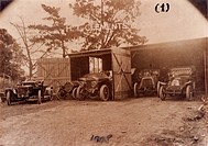 5 cars manufactured by H I Clements & Co., Sydney Australia, 1908